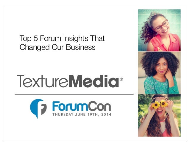 ForumCon: Top 5 Forum Insights that Changed our Business, Crista Bailey
