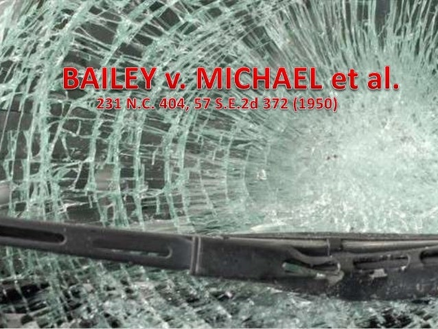 Bailey v. michael porfolio presentation