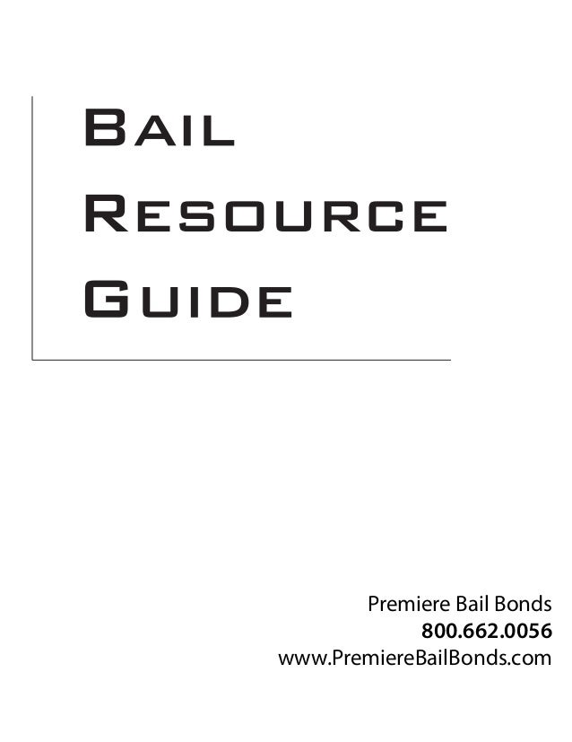 Bail Resource Guide