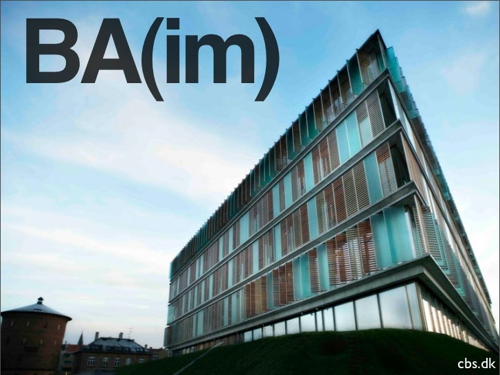 BA(im)            cbs.dk