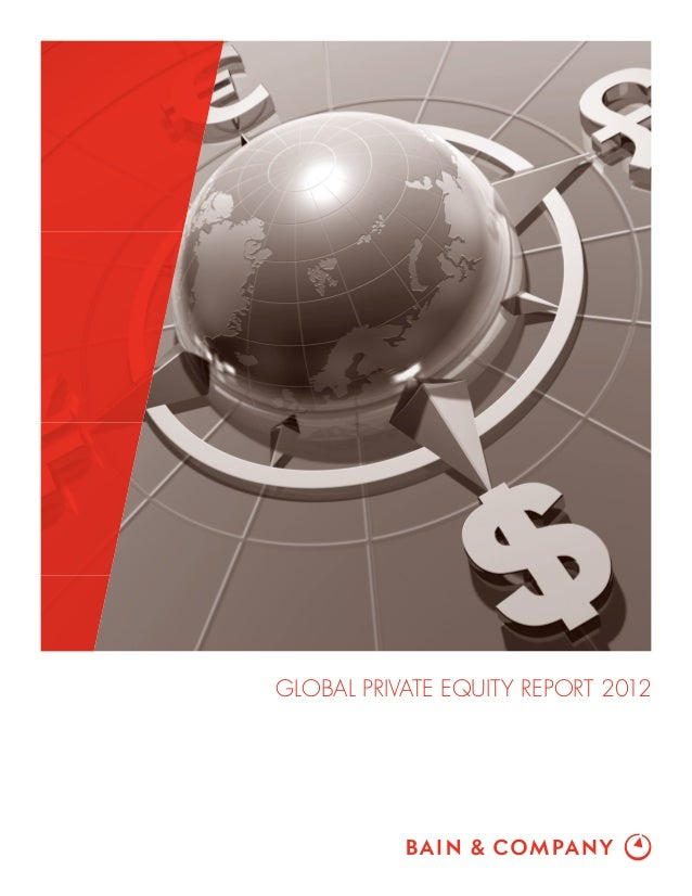 Bain & Co Private Equity Report (4-25-2013)