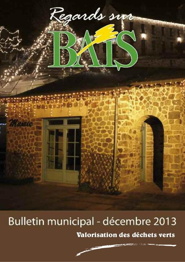 Bulletin décembre 2013