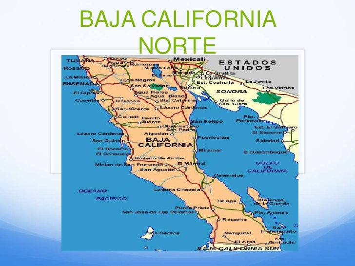 Mapa De Ensenada Baja California Images - Mapa de california