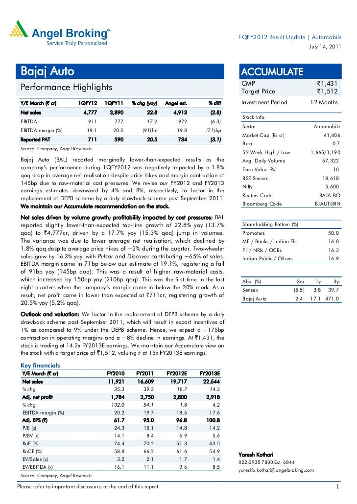 1QFY2012 Result Update | Automobile                                                                                       ...
