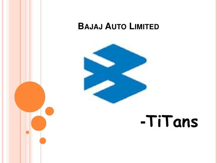 a report explaining the marketing strategy of indias bajaj auto