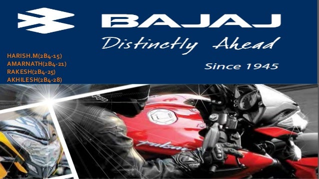 operations management at bajaj I came on as a pmo for this project shortly after it was announced all my (and our entire team) correspondence with movation has been positive since day 1 any questions or concerns we have/had were addressed in a timely.