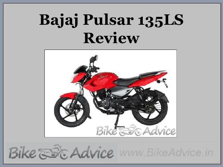 Bajaj Pulsar 135LS Review<br />