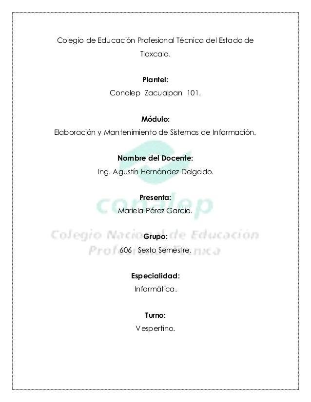 Codigo de bajas en Visual Basic, Mariela Pérez Garcia
