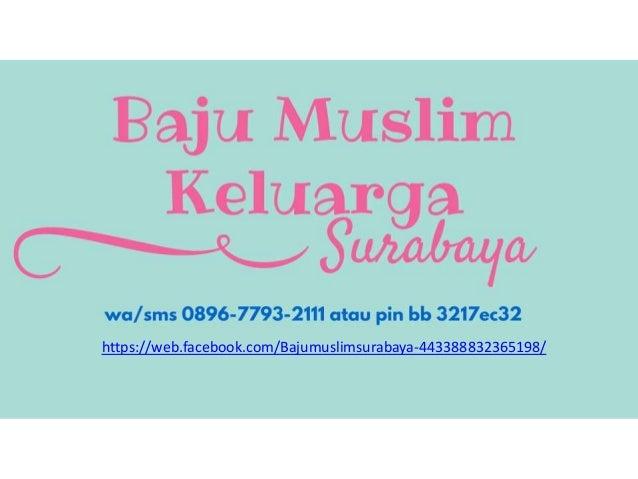 Jual Baju Muslim Keluarga Surabaya