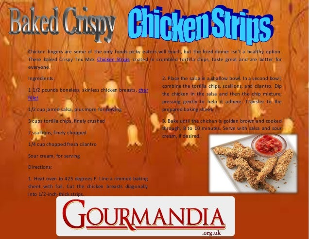 Chicken fingers are some of the only foods picky eaters will touch, but the fried dinner isn't a healthy option. These bak...