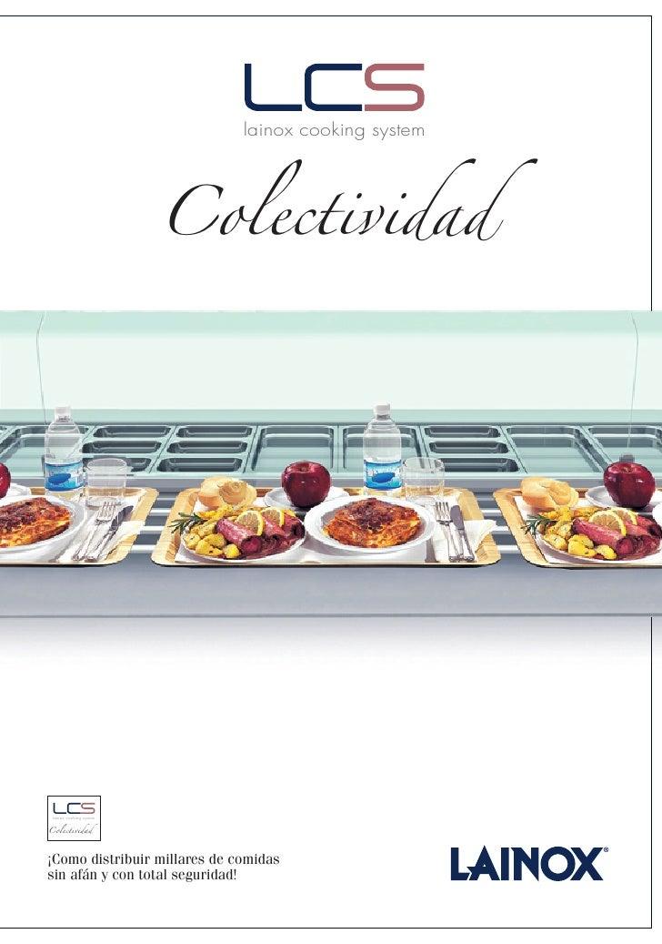 lainox cooking system                              Colectividad      lainox cooking system   Colectividad     ¡Como distri...