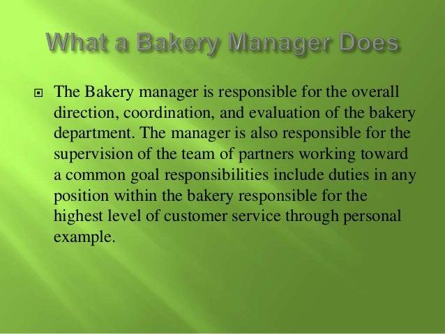 Bakery Manager Salary