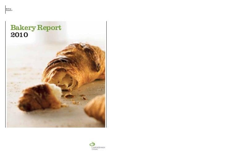 BakingPleasure°     Bakery Report     2010
