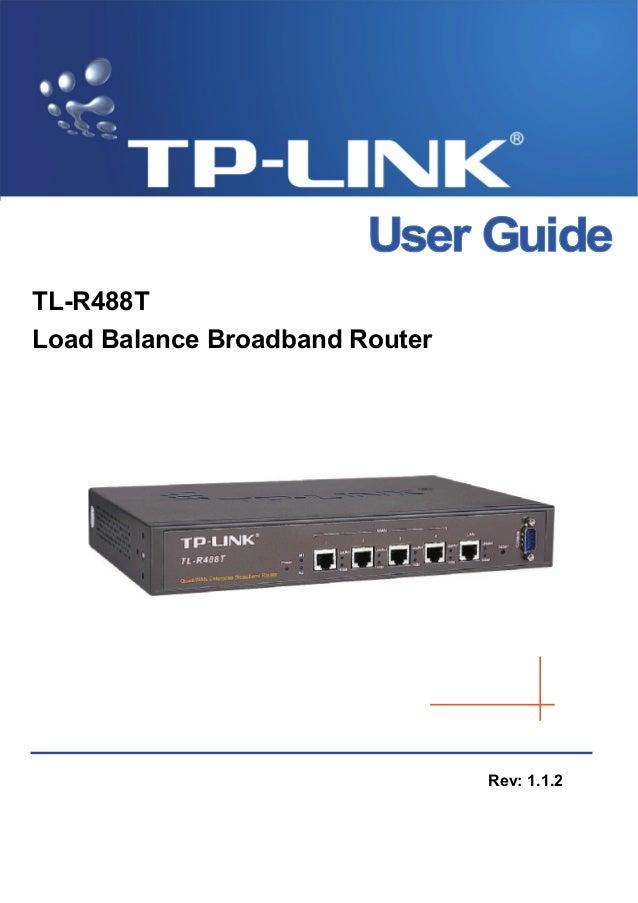 Balanceador tp link