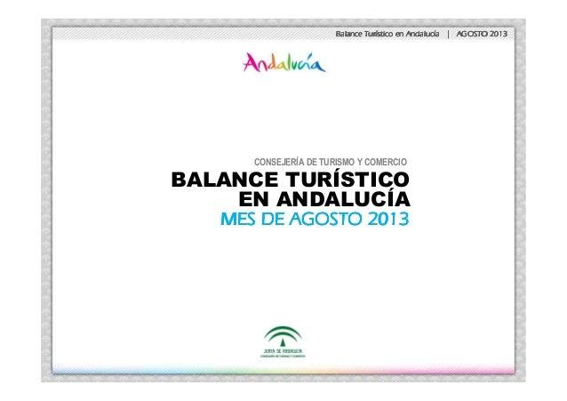 Balance TurBalance TurBalance TurBalance Turíííístico en Andalucstico en Andalucstico en Andalucstico en Andalucíííía | AG...