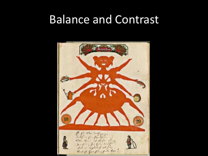 Balance and Contrast<br />