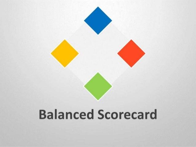 balanced scorecard template powerpoint