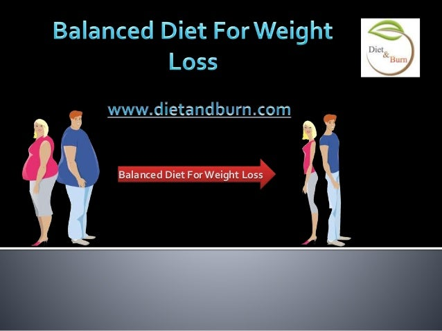 balanced diets to lose weight