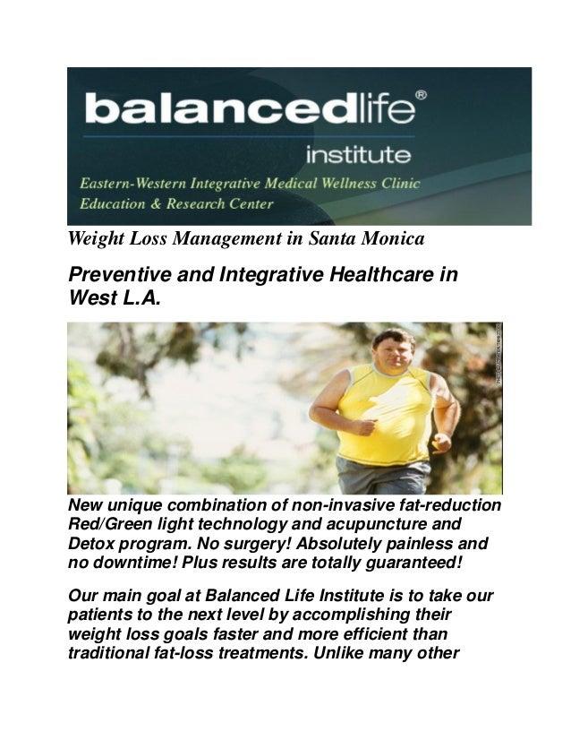 Balanced Life Institute : Weight Loss Santa Monica