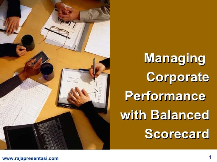 Managing                              Corporate                          Performance                          with Balance...