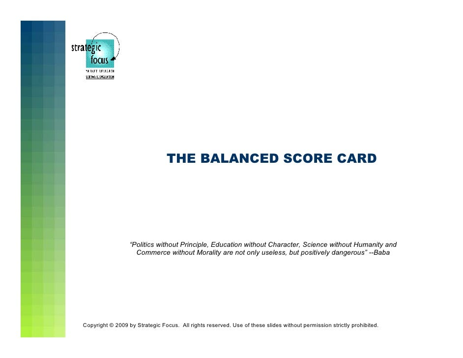 balanced scorecard wal mart Free 2-day shipping on qualified orders over $35 buy the balanced scorecard ( hardcover) at walmartcom.