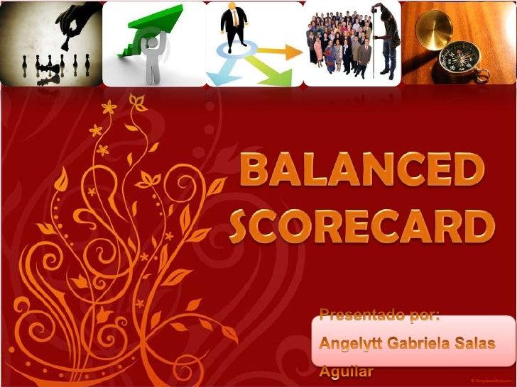 Balanced scorecard, Gabriela Salas UNA-PUNO