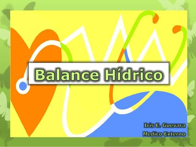 El requerimiento es: aporte y eliminaciónarmónico de líquidos y electrolitos.Los desequilibrios se asocian a cuadrospatoló...