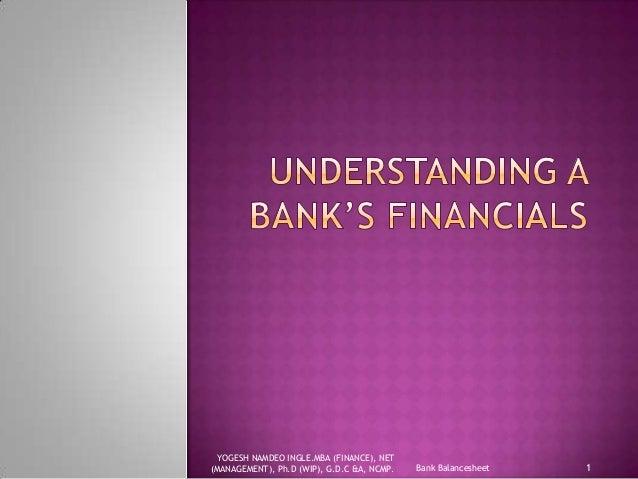 Balancesheet commercial banks