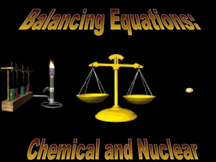 Balancing Equations #2