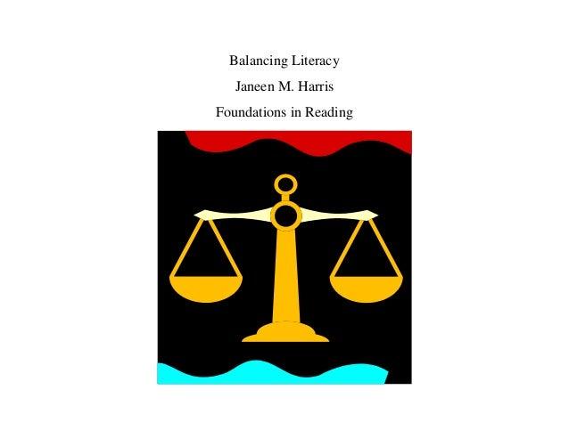 Balancing literacy
