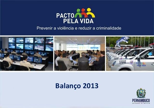 Balanço ppv 2013