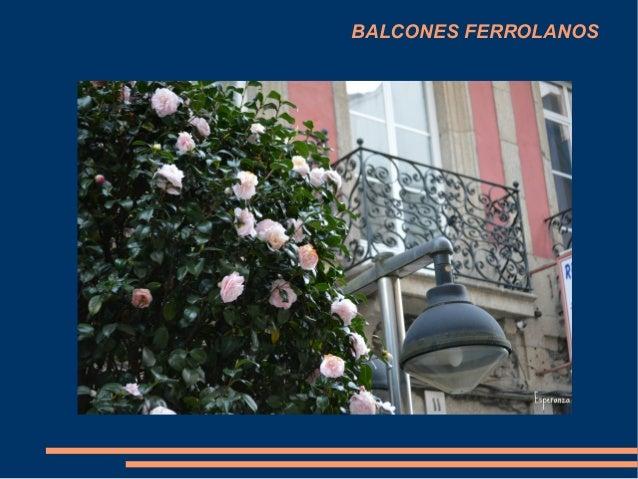 BALCONES FERROLANOS