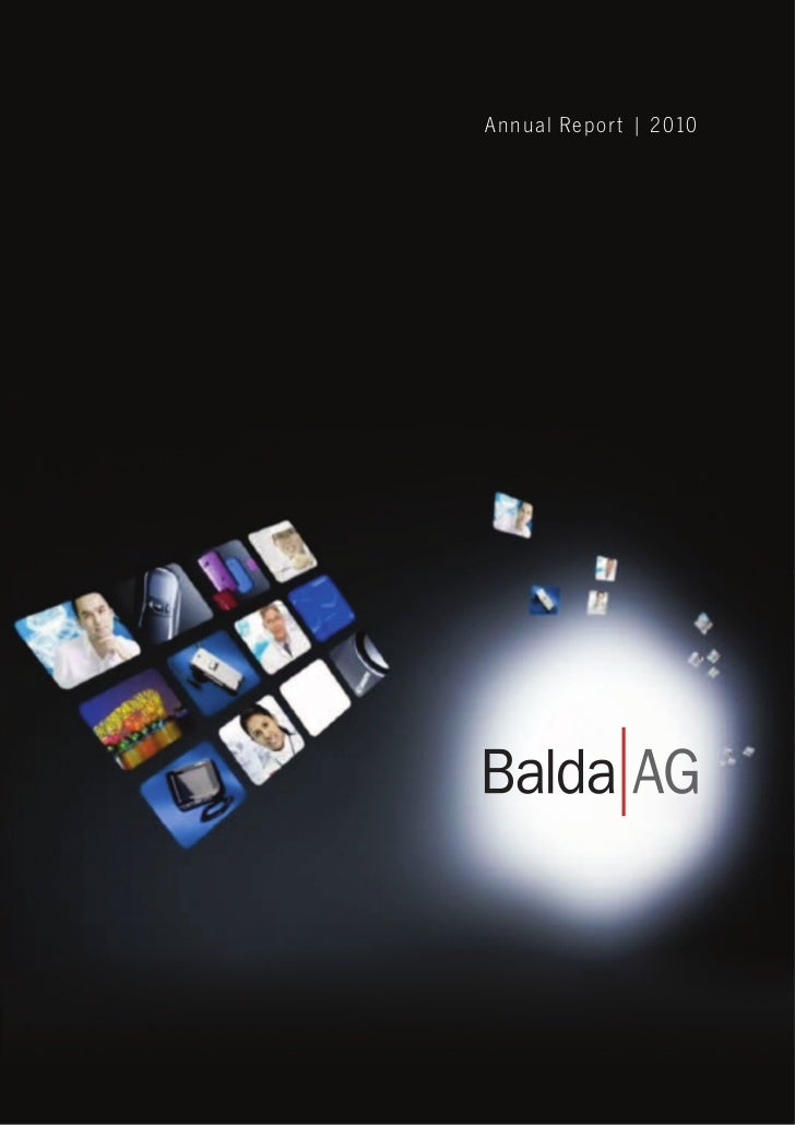 Balda Annual Report 2010