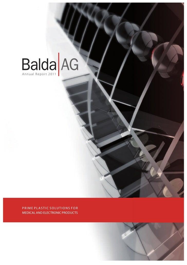 Annual Report 2011                                                 TitelblattAnnual Report 2011P R I M E P L A S T I C S O...