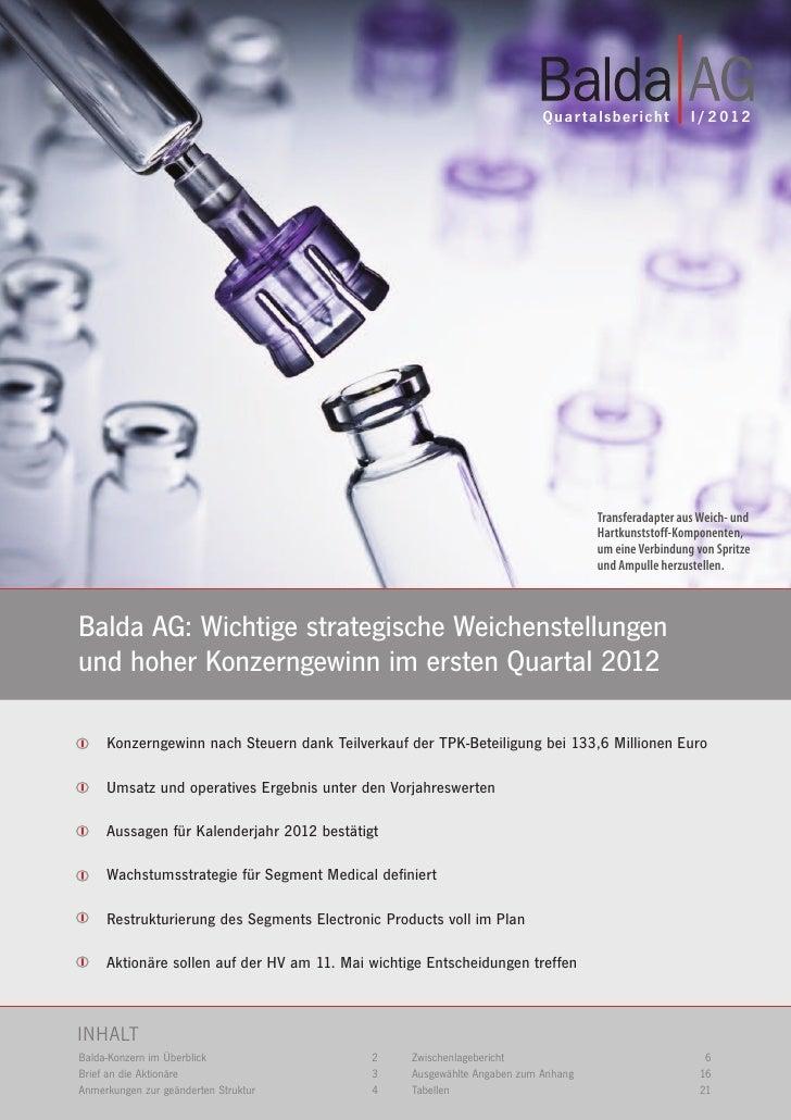 Balda Q1 2012 (deutsch)