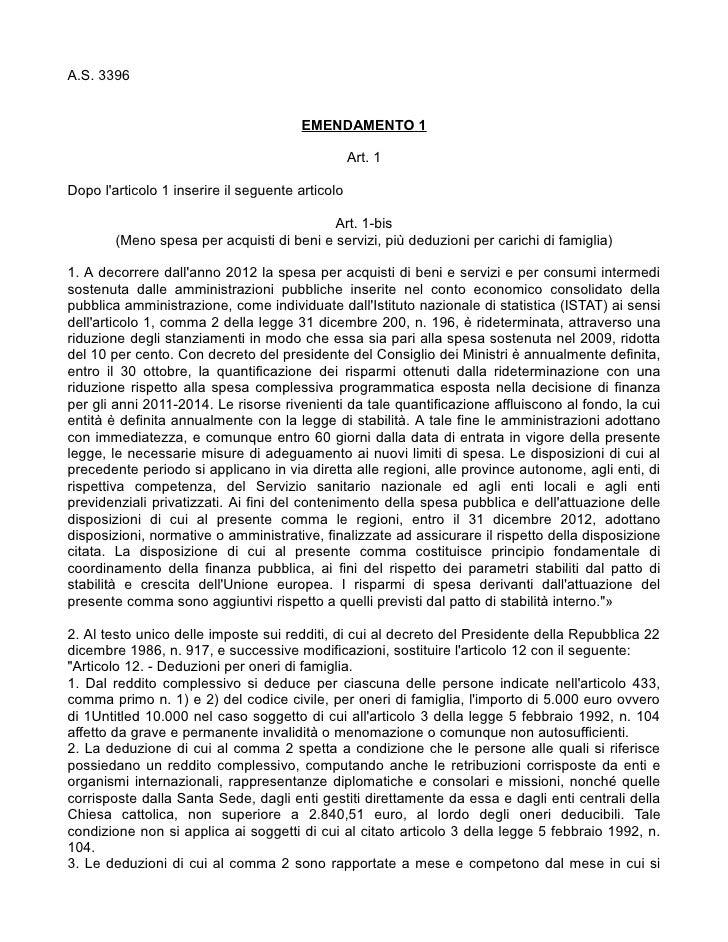 A.S. 3396                                       EMENDAMENTO 1                                                  Art. 1Dopo ...