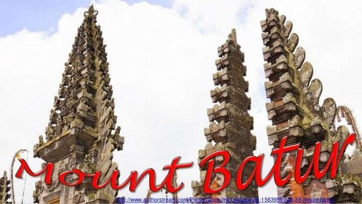 Bali 38 Mount Batur & Pura Ulun Danu Batur