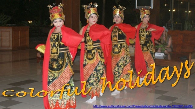 Bali 58 Colorful holidays