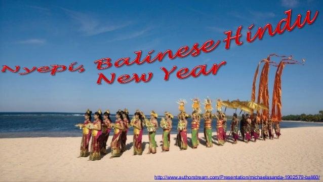 Bali 60 Nyepi, Balinese Hindu New Year