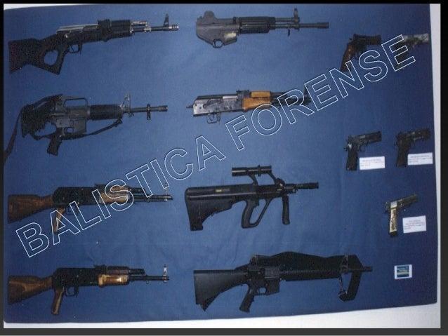 """Se denomina """"Personalidad del arma de fuego"""" al conjunto de marcas características que los distintos componentes de esta s..."""