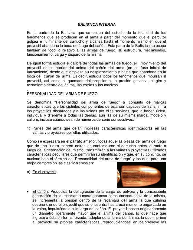 Balistica interna (1)