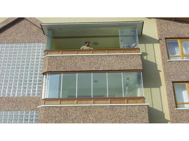 Seyrantepe Cam balkon sistemleri ** 531 61 61 ** Pimapen balkon, Balkon kapama