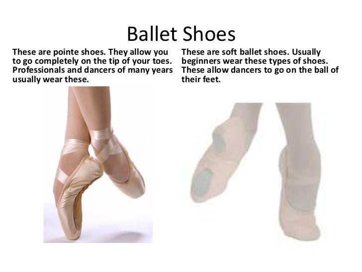 What Pointe Shoes Do Professionals Wear