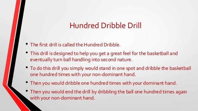 Ball handling drills for basketball beginners
