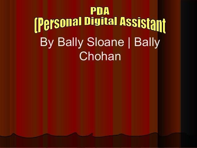 By Bally Sloane | Bally Chohan