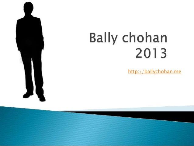 http://ballychohan.me