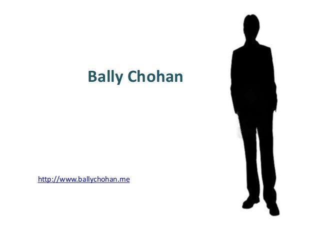 Bally chohan biography