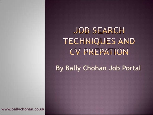 www.ballychohan.co.uk By Bally Chohan Job Portal