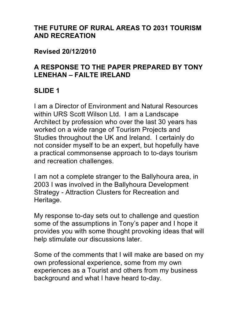 Ballyhoura Presentation Revised 20 dec 2010