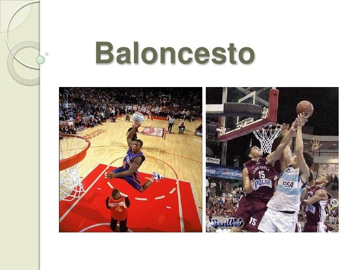 Baloncesto<br />